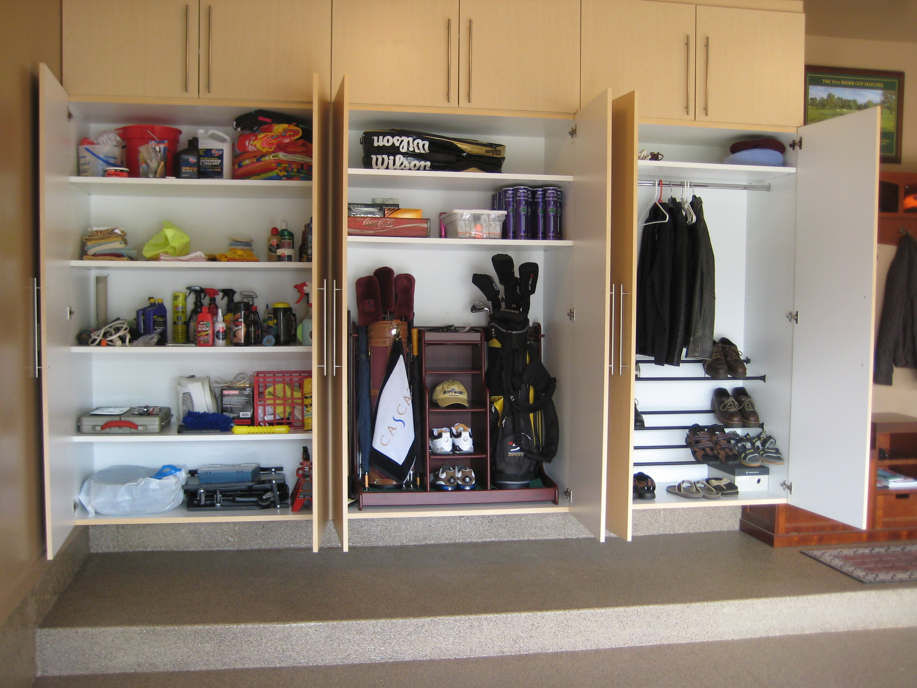 Build Your Own Garage Storage Systems