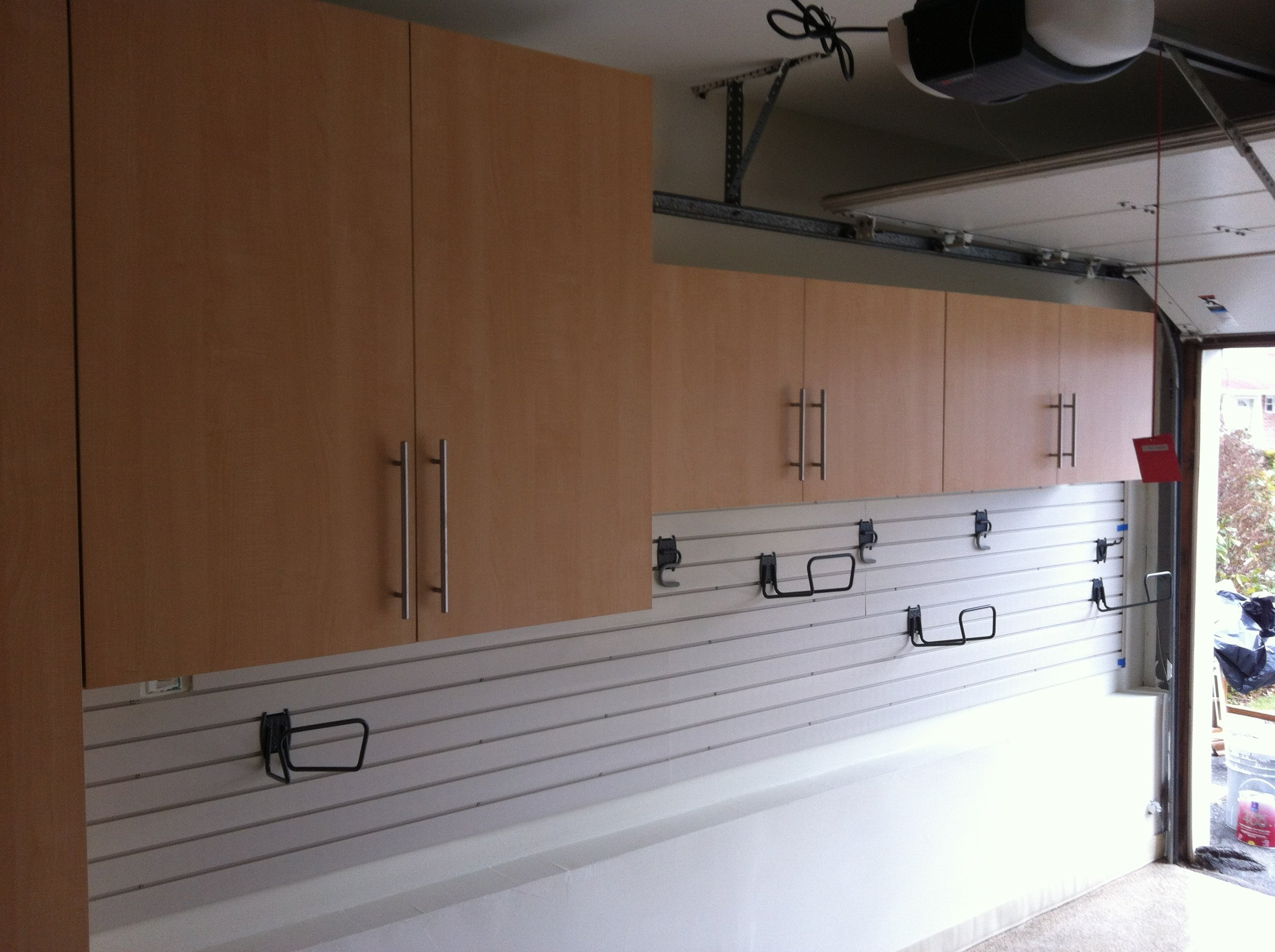 Side Wall Cabinets & SlatWall