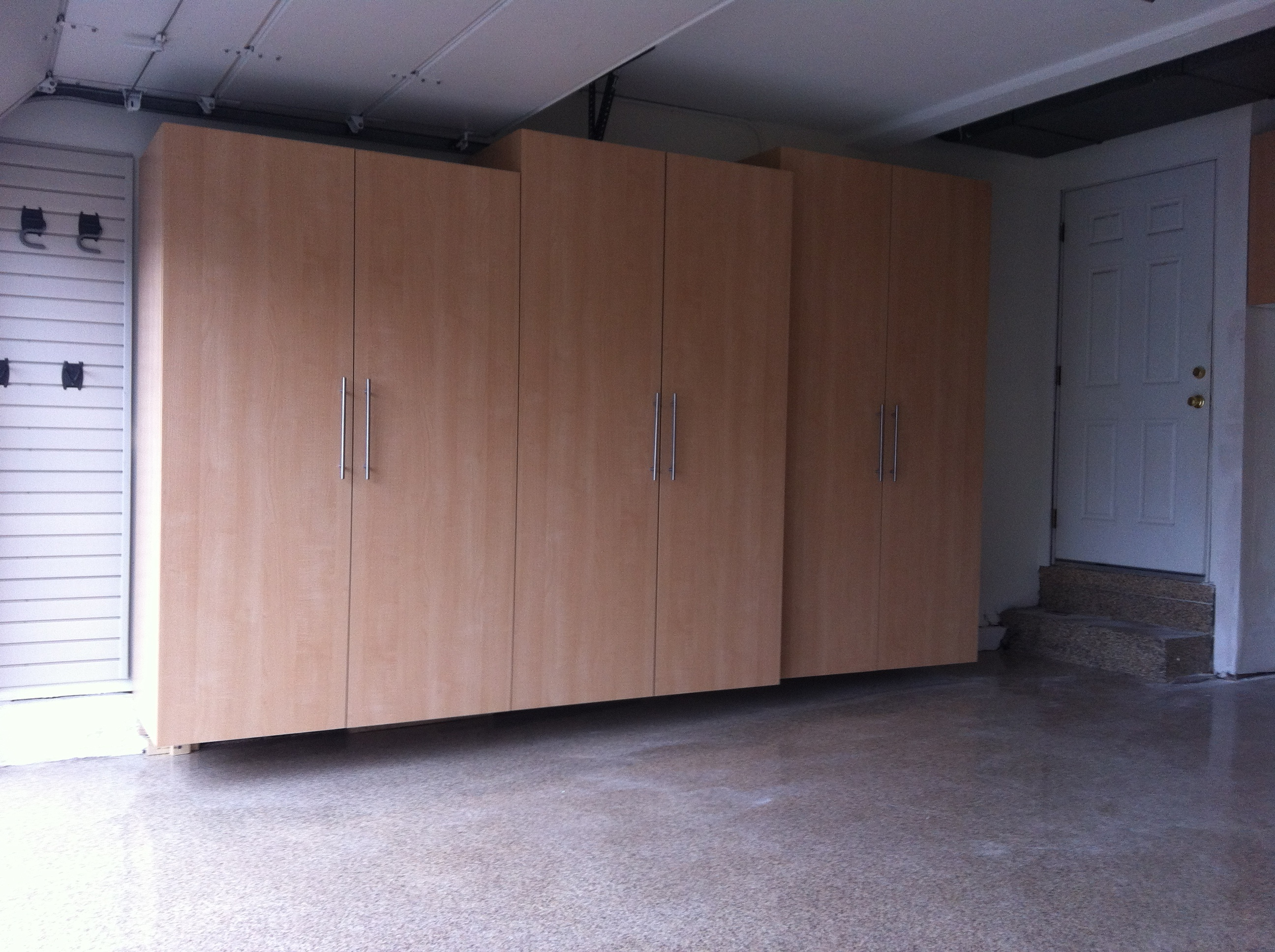 Full Length Cabinet Storage
