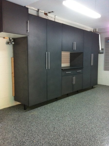 Upgraded Powder Coated Cabinets
