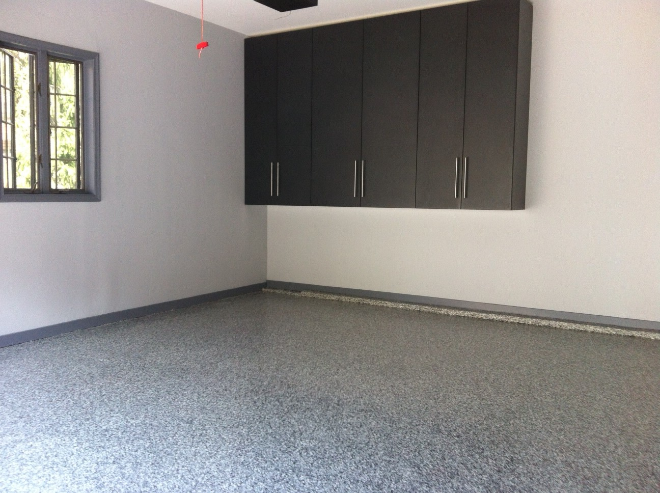 Graphite Powder Coated Cabinets & Floor