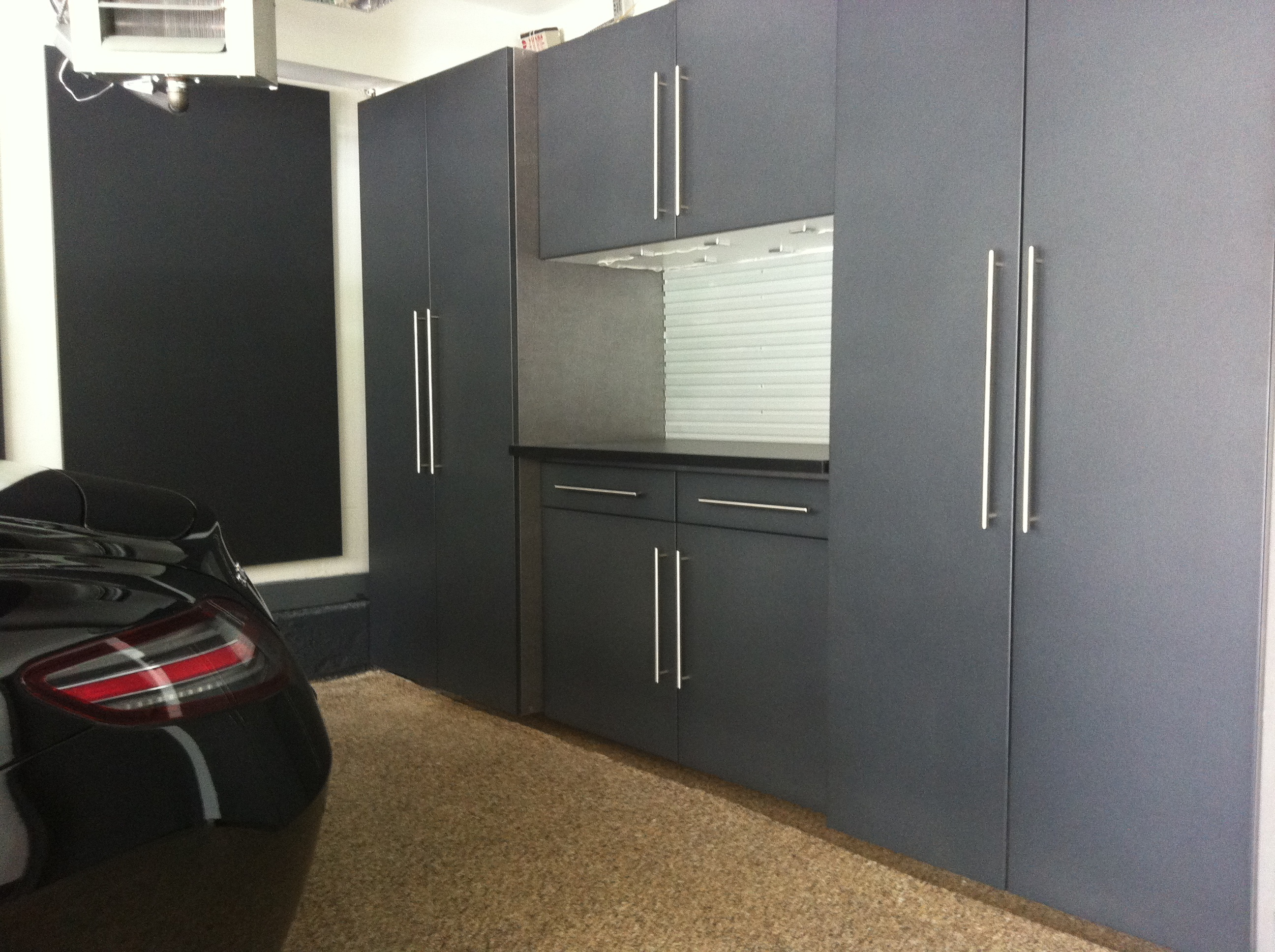 Prestige Graphite Powder Coated Cabinets