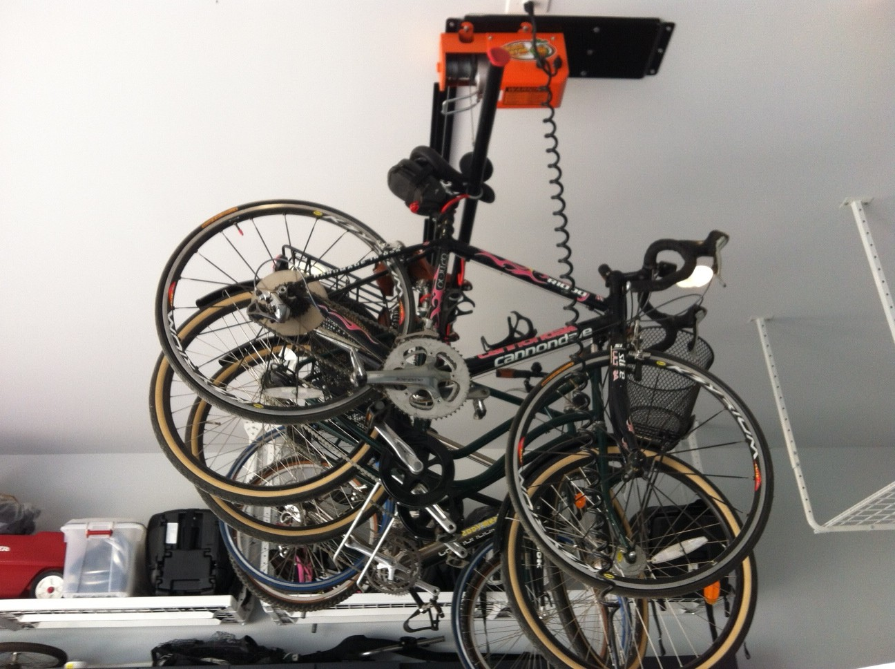 Prestige Electric Hoist Bike Lift
