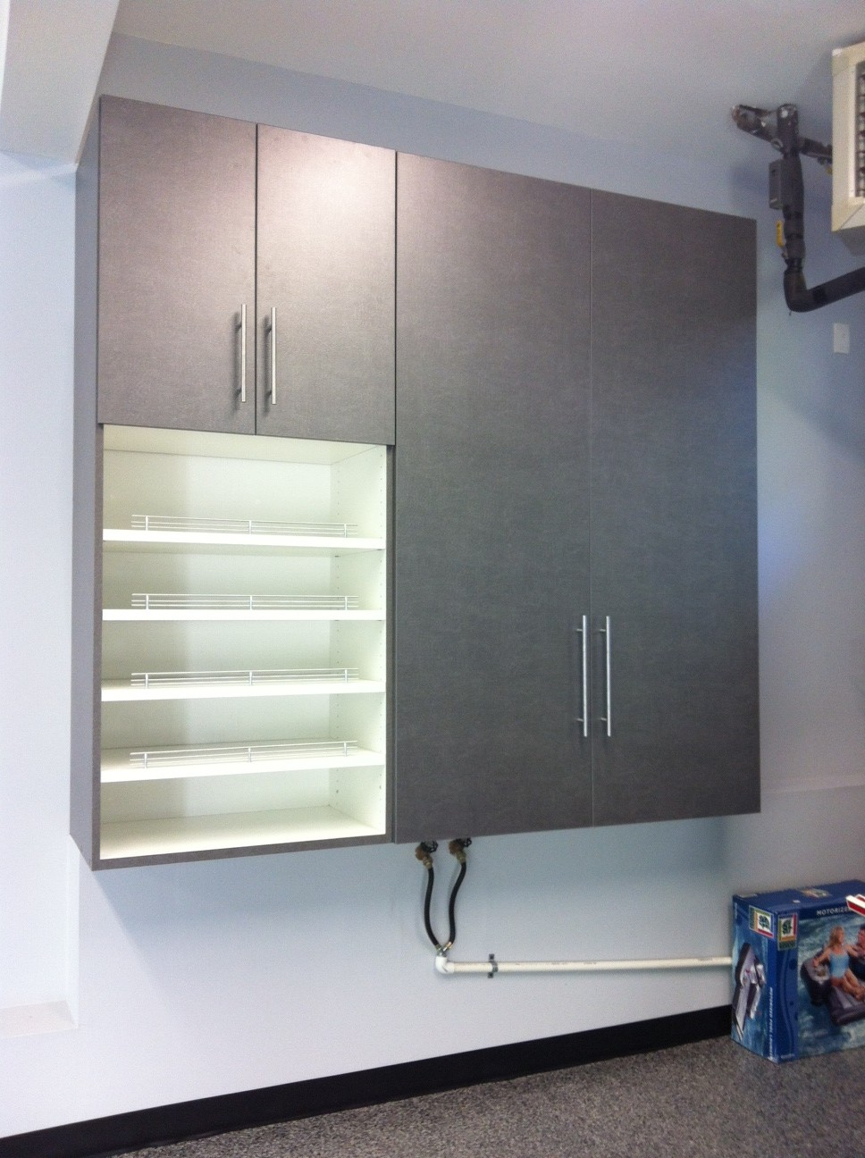Wall Cabinet with built in shoe rack.