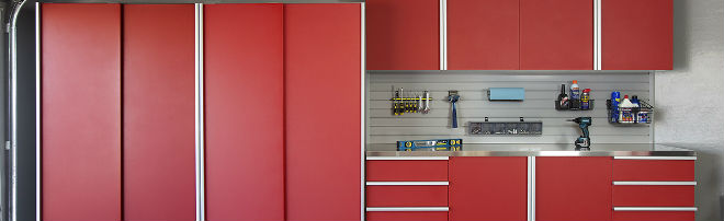 Red_Sliding_Cabinets_CLOSED_w_Stainless_Workbench-Grey_Slatwall-Aug_2013-2