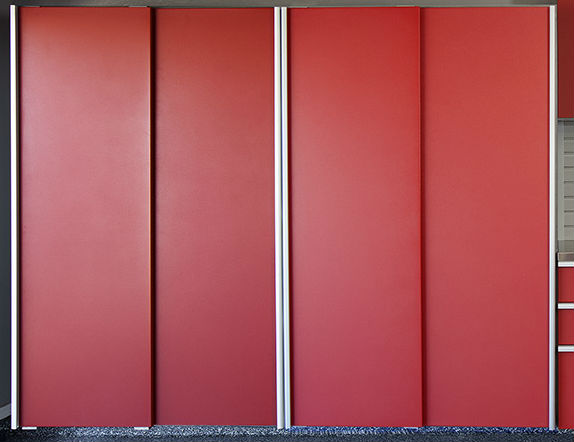 Red_Sliding_Cabinets_CLOSED_w_Stainless_Workbench-Grey_Slatwall-Aug_2013_2-1